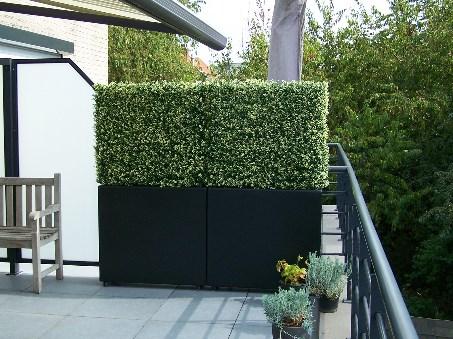 Plantenbak balkon met wielen