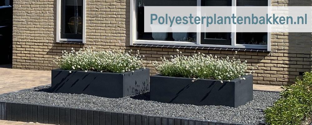 XL plantenbakken van Polyesterplantenbakken.nl