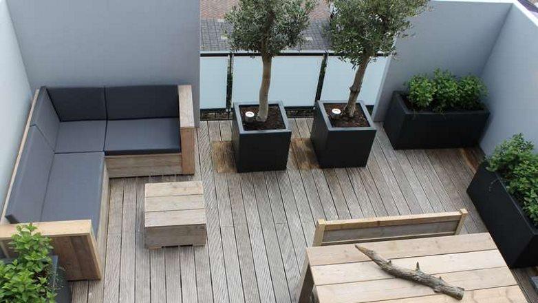 polyester plantenbakken voor buiten