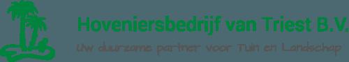logo hoveniersbedrijf van Triest BV
